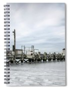 Cape Cod Winter Spiral Notebook