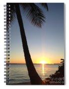 Cape Coral Winter Sunset  Spiral Notebook