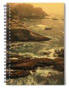 Cape Flattery Misty Morning - Washington Spiral Notebook