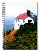 Cape Foulweather Spiral Notebook