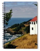 Cape Foulweather Point Spiral Notebook