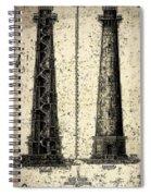 Cape Hatteras Art Spiral Notebook