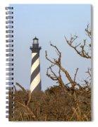 Cape Hatteras Lighthouse Through The Brush Spiral Notebook