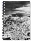 Cape Kiwanda Storm Spiral Notebook