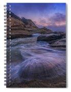 Cape Kiwanda Twilight Spiral Notebook