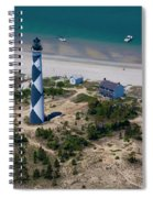 Cape Lookout 4 Spiral Notebook