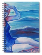 Cape May 1920s Girl Spiral Notebook