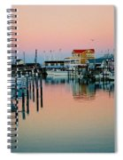 Cape May After Glow Spiral Notebook