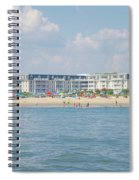 Cape May Beach Scene Spiral Notebook