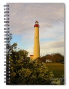 Cape May Lighthouse In Spring Spiral Notebook