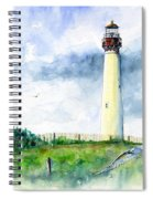 Cape May Lighthouse Spiral Notebook