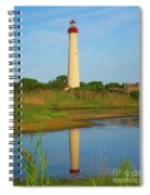 Cape May Morning Reflection Spiral Notebook