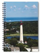 Cape May Point Lighthouse Spiral Notebook