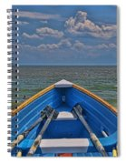 Cape May N J Rescue Boat 2 Spiral Notebook