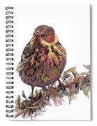 Cape May Warbler Spiral Notebook