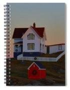 Cape Neddick Light Spiral Notebook