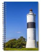 Cape Ottenby Light Spiral Notebook
