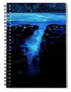 Cape Perpetua Blue Night Spiral Notebook