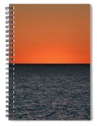 Cape San Blas Sunset Spiral Notebook