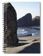 Cape Sebastian - Hunters Cove Area- Oregon Coast Spiral Notebook