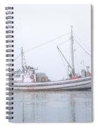 Capelco Passing Thru Foggy Johnson Bay Spiral Notebook