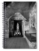 Capistrano Mission Statue Spiral Notebook