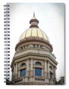 Capital Building Dome Cheyenne Wyoming Vertical 01 Spiral Notebook