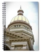Capital Building Dome Cheyenne Wyoming Vertical 02 Spiral Notebook