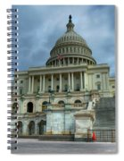 Capital Building Spiral Notebook