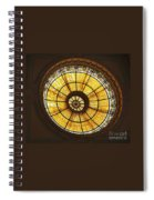 Capital One Bank Building Dome Spiral Notebook