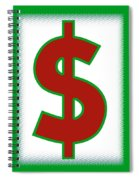 Capitalist Dollar Spiral Notebook