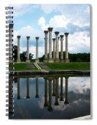 Capitol Columns, National Arboretum Spiral Notebook