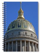 Capitol Dome Charleston Wv Spiral Notebook