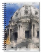 Capitol Dome St Paul Minnesota Spiral Notebook
