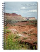 Capitol Reef 4 Spiral Notebook
