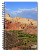 Capitol Reef State Park, Utah Spiral Notebook