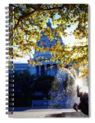 Capitol View Spiral Notebook
