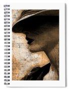 Capones Girl Spiral Notebook