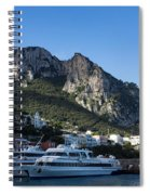 Capri Island Harbor  Spiral Notebook