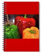Capsicum In The Wash Spiral Notebook