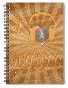 Captain America Lullaby Original Digital Spiral Notebook