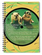 Captain And Tennille Greatest Hits Lp Label Spiral Notebook