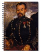 Captain Edouard Bernier 1871 Spiral Notebook