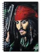 Captain Jack Sparrow Spiral Notebook