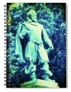 Captain John Smith - Jamestown Virginia Spiral Notebook