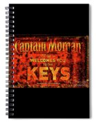 Captain Morgan The Florida Keys Spiral Notebook