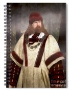 Captain Of The Guild Of St. Maurice Spiral Notebook