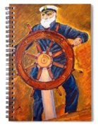 Captian Of The Dawn Spiral Notebook