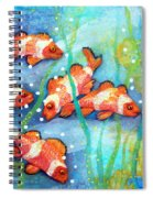 Captivating Clown Fish Spiral Notebook