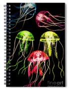 Captivating Connectivity Spiral Notebook